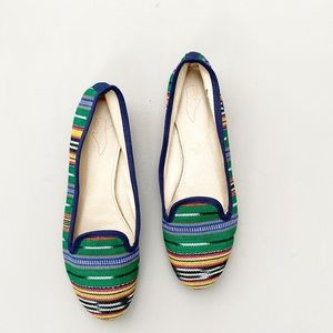 Anthropologie Tribal Flats / Loafers  size 8M